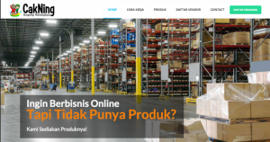 Cakning.com dropshipping in Surabaya