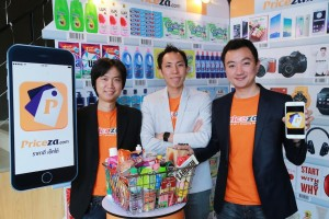 Wai and the other two co-founders in charge of technology and product