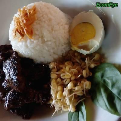 Indonesian Rawon food