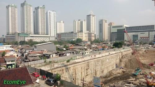 Jakarta construction (Oct 10, 2015)